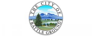 The City of Battle Grounds Washington Logo